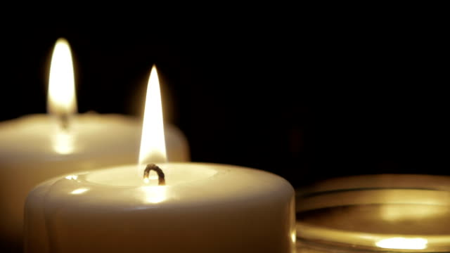 candles burning - funeral stock videos & royalty-free footage