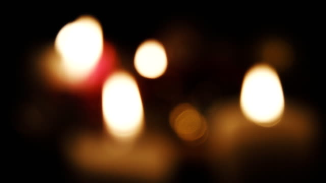 candles defocused seamless loop. - candle stock videos & royalty-free footage