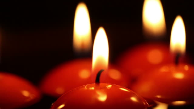 candles flame. - five objects stock videos and b-roll footage