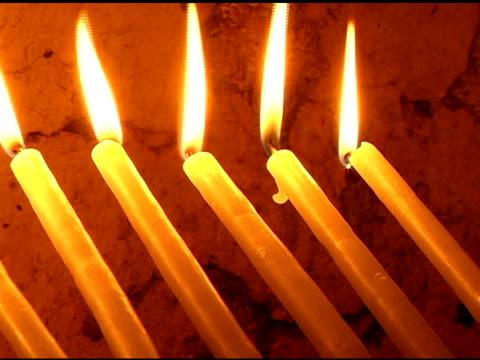キャンドルの列で教会 - 聖地パレスチナ点の映像素材/bロール