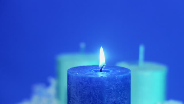 candles sweden. - 少数の物点の映像素材/bロール