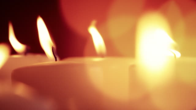 candles - candlelight stock videos and b-roll footage