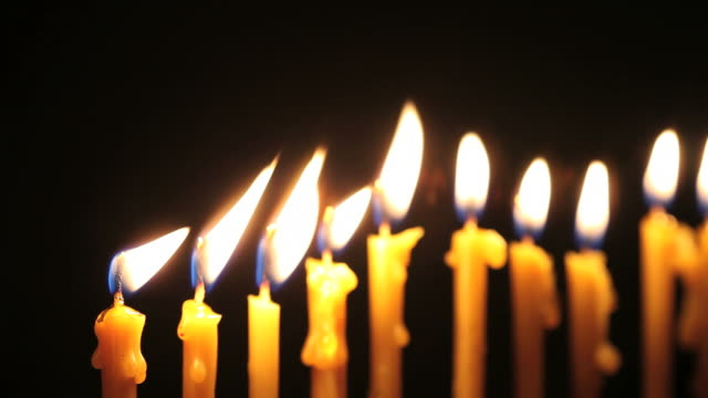 candles - medium group of objects stock videos & royalty-free footage
