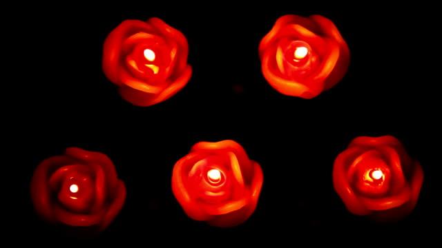 vídeos de stock, filmes e b-roll de velas (hd - grupo médio de objetos