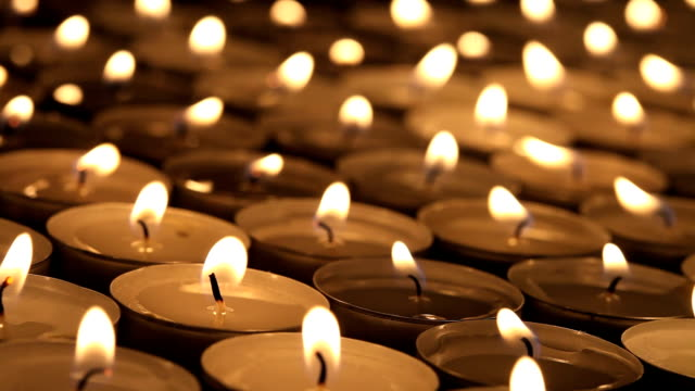 candles - candlelight stock videos & royalty-free footage