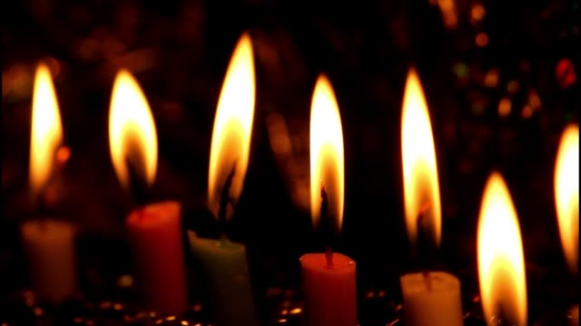 candles - religion stock videos & royalty-free footage