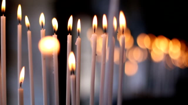 candles - church stock videos & royalty-free footage