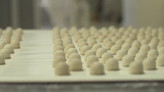 candy factory - food processing plant stock videos and b-roll footage