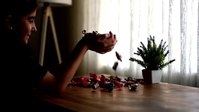 vídeos y material grabado en eventos de stock de candy para vacaciones de ramadán - dulces