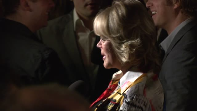candy spelling at the 'sons of hollywood' premiere launch party at les deux in los angeles california on march 29 2007 - les deux club stock videos & royalty-free footage