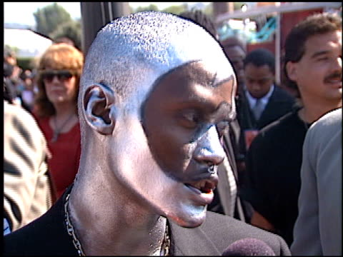 Canibus at the 1998 MTV Video Music Awards entrances at Universal Amphitheatre in Universal City California on September 10 1998