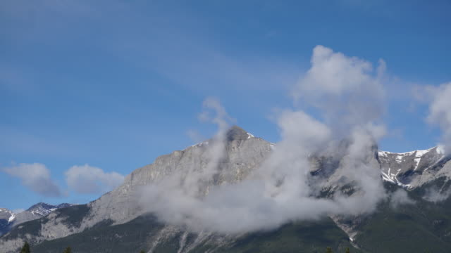Canmore Mountain Time-lapse