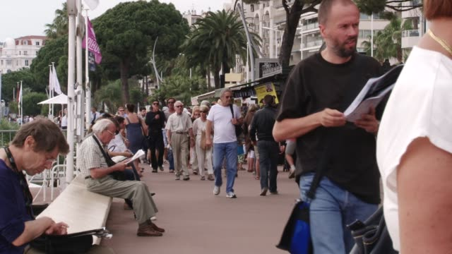 Cannes during the day Quintessentially Cannes Footage on May 25 2011 in Cannes France