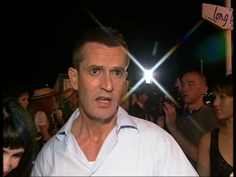 stockvideo's en b-roll-footage met 'st trinian's' party arrivals and interviews rupert everett interview sot the film [st trinian's] is not politically correct but there is an... - rupert everett