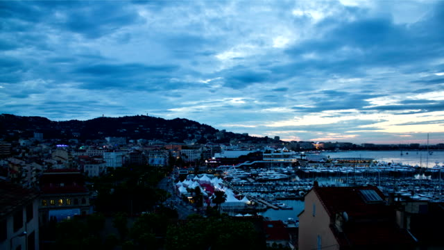cannes sunrise - cannes stock videos & royalty-free footage