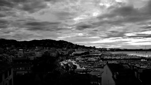 cannes sunrise - seeing paris: on the boulevards stock videos & royalty-free footage