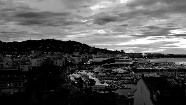 cannes sunrise zoom - international cannes film festival stock videos and b-roll footage
