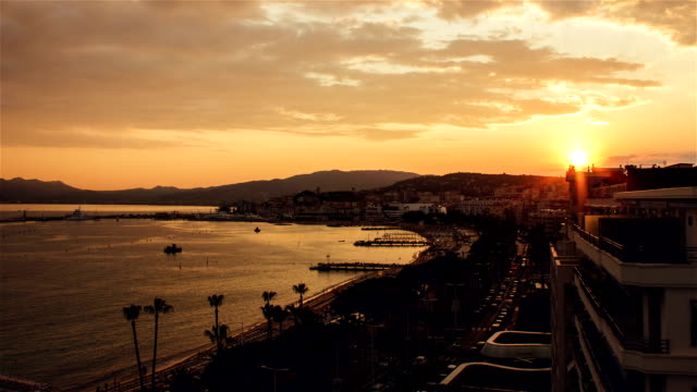 cannes timelapse - cannes stock videos & royalty-free footage