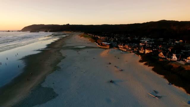 Cannon Beach und Haystack Rock