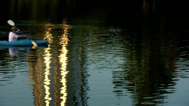 HD 1080 Canoe on River 3