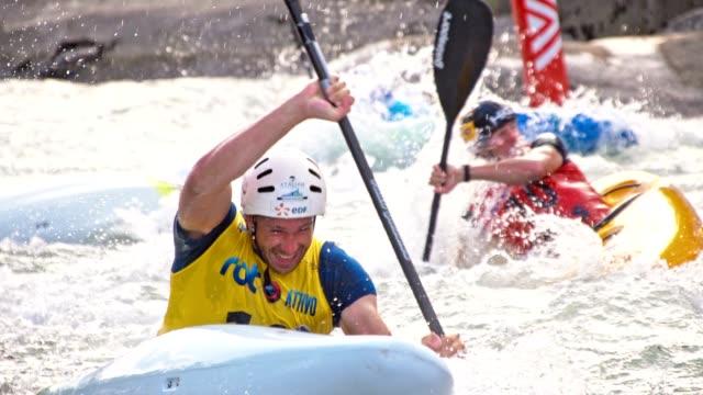 Canoe world cup race in September 2016 in Tacen near Ljubljana Slovenia