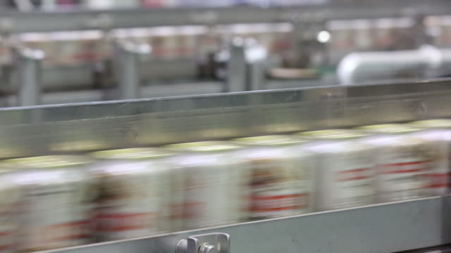 cans of kirin brewery co's kirin ichiban beer move on the production line in toride ibaraki japan on thursday may 31 2018 - can stock videos & royalty-free footage