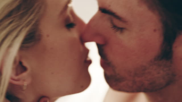 i can't get enough of your lips - heterosexual couple stock videos & royalty-free footage