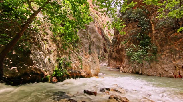 canyon and river - flowing water stock videos & royalty-free footage