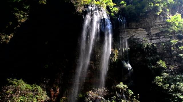 Canyon und Wasserfälle