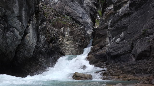 canyon falls - british columbia stock videos & royalty-free footage