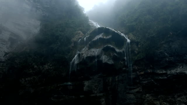 canyon in the west of china's western hunan - granite stock videos & royalty-free footage