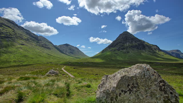 canyon scenery / scotland, united kingdom - ridge stock videos & royalty-free footage