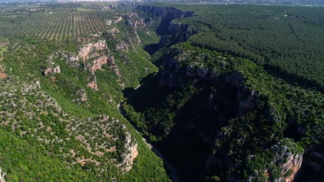 canyon - taranto province stock videos & royalty-free footage