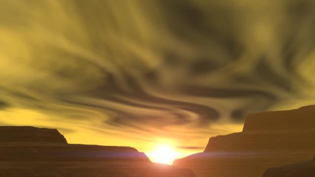 vídeos y material grabado en eventos de stock de vista de la puesta del sol cañón - arizona