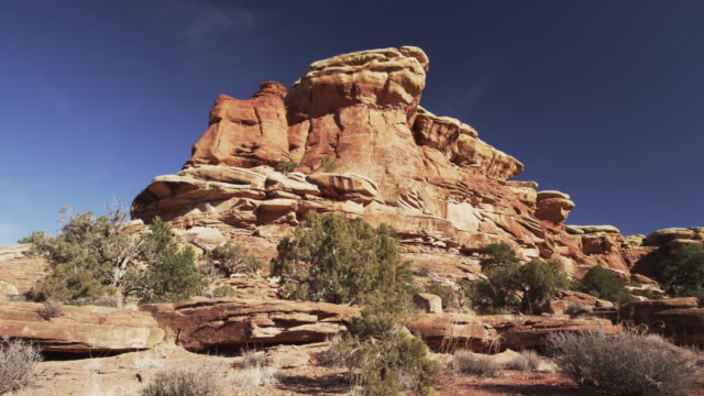 canyonlands national park landscape - canyonlands national park stock videos & royalty-free footage