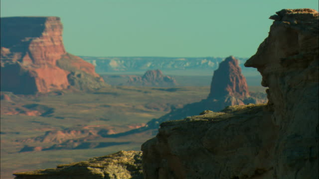 ms, selective focus, canyonlands national park, utah, usa - canyonlands national park stock videos & royalty-free footage