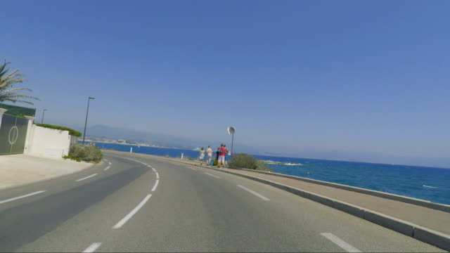 Cap d'Antibes coastal drive