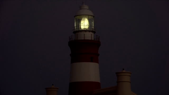 WS Cape Agulhas Lighthouse at night/ Cape Agulhas/ Western Cape/ South Africa