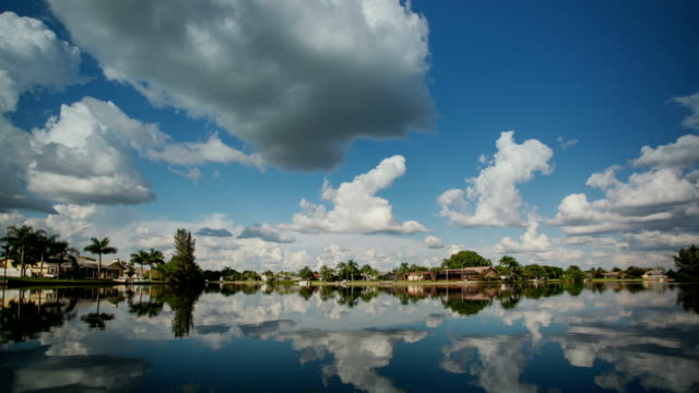 cape coral, florida. time lapse - cape coral stock videos & royalty-free footage