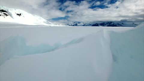 vídeos y material grabado en eventos de stock de cape hallett in antarctica - antarctica
