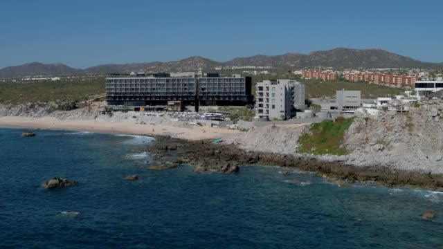 cape hotel from sea of cortez in cabo san lucas baja california mexico - cabo san lucas stock videos and b-roll footage