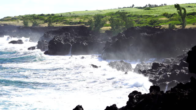 cap malizé dit église requins - reunion island - french overseas territory stock videos and b-roll footage