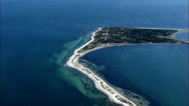 Cape Page Bay - Aerial View - Massachusetts,  Nantucket County,  United States
