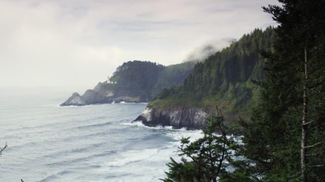 Cape Perpetua Oregon time lapse