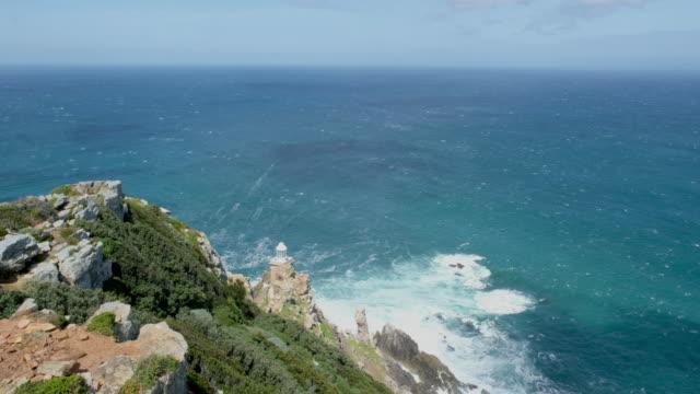 ケープポイント、南アフリカ - ケープ半島点の映像素材/bロール