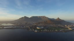 Cape Town Aerial, Clear Morning
