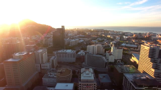 cape town at sunset - cape town stock videos & royalty-free footage