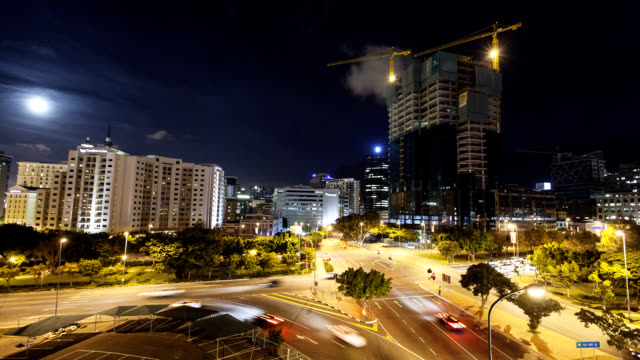 cape town cbd timelapse - republik südafrika stock-videos und b-roll-filmmaterial
