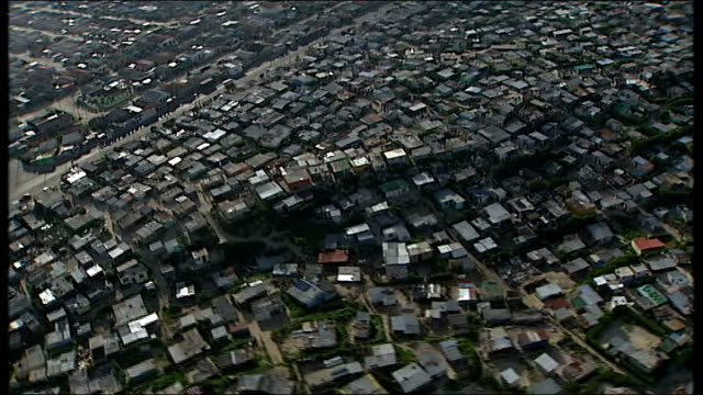 cape town: ext air view of cape town - krishnan guru murthy stock videos & royalty-free footage