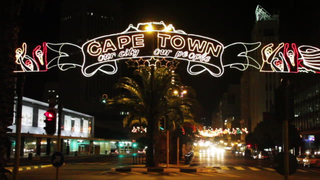 cape town holiday decorations - western script stock videos & royalty-free footage